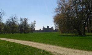 The park of Castello di Racconigi