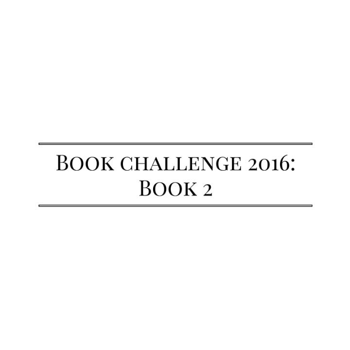 Book challenge 2016-Book 2